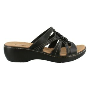 Clarks Delana Venna Slide On Sandals Clothing, Shoes & Jewelry Shoes