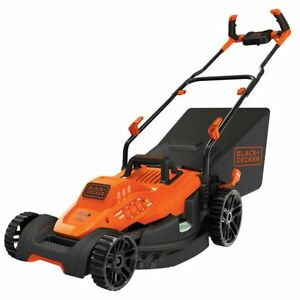 Black and Decker BEMW482BH 17quot; 12 Amp Height Adjusting Comfortgrip Lawn Mower $169.99