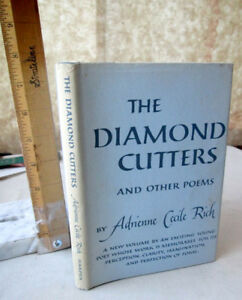 THE DIAMOND CUTTERS & Other POEMS1955Adrienne Cecile Rich1st EdDJ