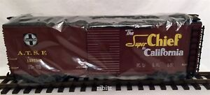 G-scale Train Garden Railway: LGB 45913 ATSF Santa Fe SUPER CHIEF Cal Boxcar MIB