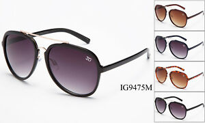 12 Pairs New Women Fashion Aviator Metal & Plastic Designer Sunglasses Wholesale