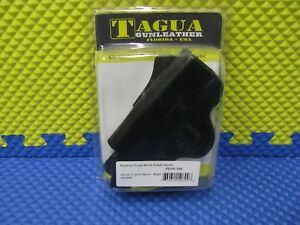 Tagua Gunleather Rotating Thumb Break Paddle Holster Right Hand PD1R-300