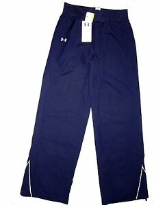 UNDER ARMOUR womens Navy All Seasons Gear athletic  Pants SMALL