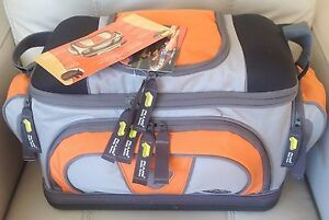 PLANO Fishing Tackle Carry Bag w 4 Utility Lures Large Storage Boxes - 4672