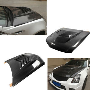 Carbon Fiber Front Engine Hood Bonnet Cover Fit for Cadilac CTS-V Coupe 11-13