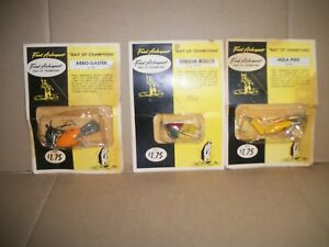 Fred Arbogast Vintage Fishing Lures Arbo-Gaster  Hawaiian Wiggler  Hula Pike