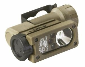 Streamlight 14102 Sidewinder Compact Tactical Flashlight w Helmet Mount Coyote