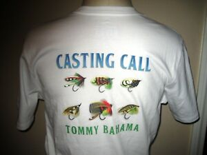 New Med Tommy Bahama White Fishing Lures