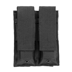MOLLE 2 Pocket Black Pistol Magazine Pouch for GLOCK 17 19 19X 22 23 20 34 35 31