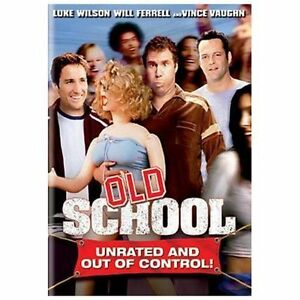 Old School (DVD 2003 Widescreen Unrated Version) NEW