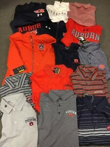 Auburn Tigers Under Armour Clothing:   Polos Sweatshirts And a Jacket