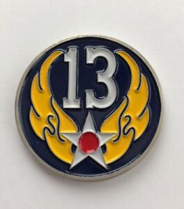 Command Surgeon 13th Air Force Jungle Medics Challenge Coin B13