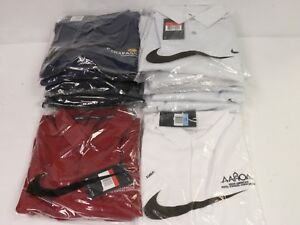 Lot of 15 Brand New Nike Golf Shirt Dri-Fit Polo with Logo Various colors sizes