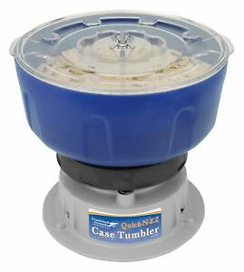 New Vibratory Case Tumbler for Brass Cleaning and Polishing Foul Remover Blue