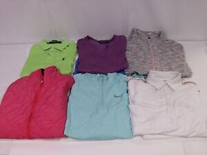 Lot of 60 Woman's Golf Tops Nike Puma Polo Under Armour Various Sizes MSRP $3500
