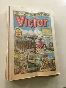 Victor comic collection. 13 issues from May 12 1984 to August 4 1984