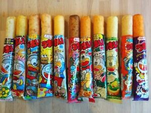 1 Pack (30 Sticks) Umaibo Choose The Type Corn Puff Snack Sticks Japan