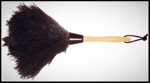 WOOL SHOP 13 in Ostrich Feather Duster Window Blind Furniture Dust Cleaning Tool