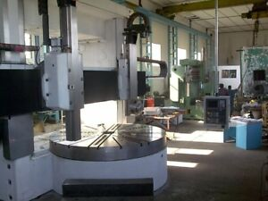 Vertical Turning Lathe 1400 mm to 4300 mm CNC FANUC
