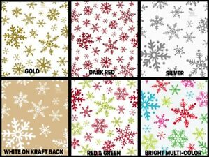 SNOWFLAKE Design Gift Grade Tissue Paper Sheets 15