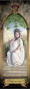 HARRY POTTER DOOR MOVIE POSTER PRINT THE FAT LADY HOUSE GRYFFINDOR