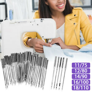 50PCS Home Sewing Machine Needle 11 7512 8014 9016 100 for Brother Singer Kit $6.98