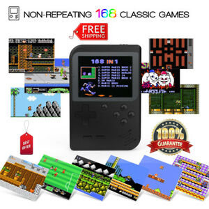TFT Handheld Game Console 168 Classic Games Built-in TV Synchronization+Battery