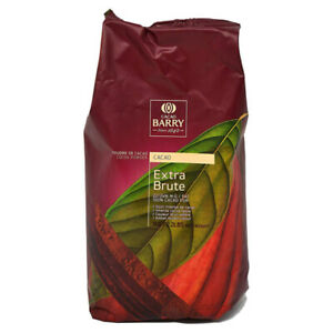 Cacao Barry Amber 100% Extra Brute Cocoa Powder 22.5% Fat 1kg