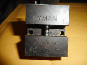 Lyman Ideal Bullet Mold 358429 173 Grain Elmer Keith Design