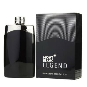 Mont Blanc Legend by Mont Blanc 6.7 6.8 oz EDT Cologne for Men New In Box $44.16