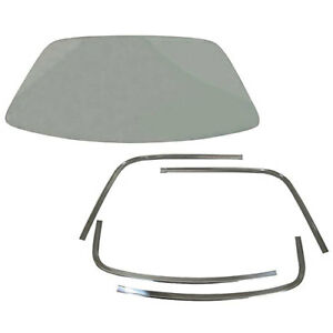 Auto Metal Direct 660-1470-1CS Back Glass Kit 1970 Plymouth Super Bird Includes