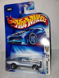 Hot Wheels '68 Chevy Nova First Editions 5/100 2004 #005