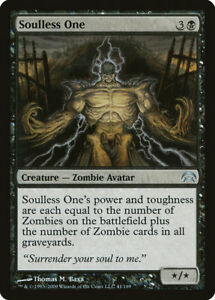 MTG X1: Soulless One, Planechase, U, Moderate Play - FREE US SHIPPING!