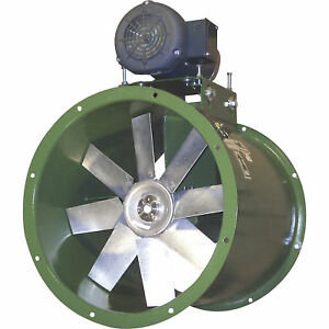 Canarm Belt Drive Axial Duct Fan- 34in 15100 CFM 3-Phase 230460 Volts