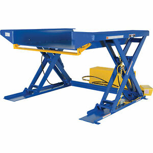 Vestil Ground Lift Scissor Table - 4000-lb. Capacity 50inL x 44inW