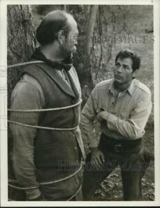 1978 Press Photo Lee DeBroux and Robert Forester