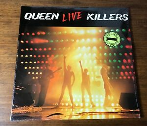 QUEEN ~ LIVE KILLERS ~ORIGINAL FIRST PRESSING 2-LPs STILL FACTORY SEALED ~ 1979