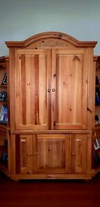 Solid Wood Cabinet Nice Furniture Piece