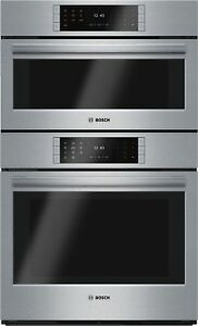 Bosch HSLP751UC Benchmark 30 Inch Wide 4.6 Cu. Ft. Combination Electric Oven wit