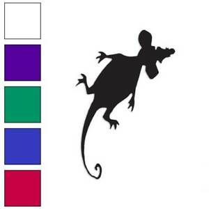 Squished Rat Mouse Decal Sticker Choose Color Size #563
