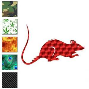 Rat Mouse Decal Sticker Choose Pattern Size #561