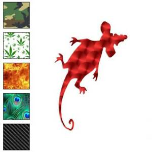 Squished Rat Mouse Decal Sticker Choose Pattern Size #563