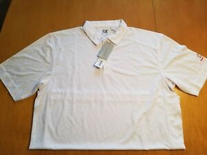 1 NWT CUTTER & BUCK MEN'S GOLF POLO SHIRT SIZE: EXTRA EXTRA LARGE (LE1)