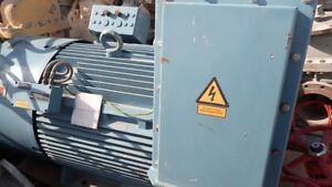 ABB Oy HXR 400LD4 Rib Cooled Induction Motor No. 4628391 duty S1 1488rpm