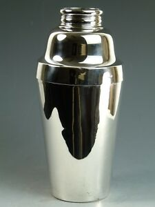 TIFFANY & Co Silver - Charles L. Tiffany Period - Cocktail Shaker - 1904