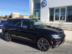 2019 Volkswagen Tiguan 2.0T SEL 4MOTION 2.0T SEL 4MOTION New 4 dr SUV Automatic Gasoline 2.0L 4 Cyl Deep Black Pearl Met