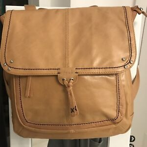 Saks Women's Leather Backpack Purse Shoulders Travel Bag Daypack Rucksack