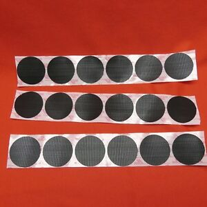 SET of 18 LOT GENUINE VELCRO HOOK ROUNDS DISKS COINS US MILITARY HELMET ACH MICH