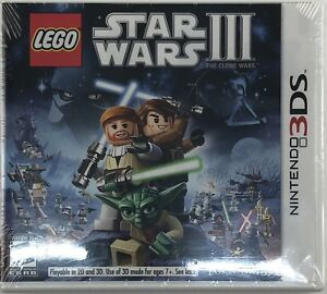 LEGO STAR WARS III : THE CLONE WARS -: (NINTENDO 3DS) - NEW AND FACTORY SEALED