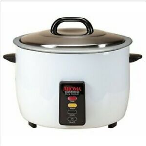Restaurant Rice Cooker Commercial Kitchen Warmer Electric Pot 60 Cup Cooked Rice